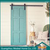 Personalize portas de celeiro deslizantes interiores de madeira maciça