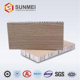De grade A2 stratifié de haute qualité en aluminium Panneau alvéolé