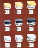 正方形のアクリルの瓶シリーズ02