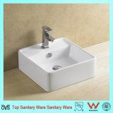 Ovs couleur blanc céramique lavabo pour salle de bains