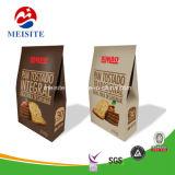 Stand de comida Pack bolsa con cremallera de plástico resellables