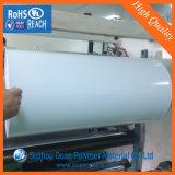 堅い0.7mmの光沢の印刷のための白いプラスチックPVCロール