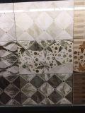 Inyección de tinta de 3D decorativos vidriados de Cuadrícula de mosaico de la pared de la cocina de porcelana pulida
