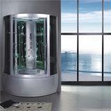 Prezzo di alluminio della doccia della vasca di bagno del vetro temperato del blocco per grafici