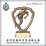 Concessão feita sob encomenda da estrela mundial do basebol do troféu do esporte, troféu do jogo