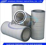 Cartouche de filtre à air de collecteur de poussière de grenaillage