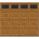 Puerta blanca sólida aislada Intellicore superior del garage del R-Valor de la serie 12.9