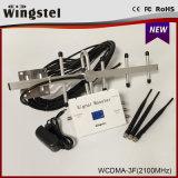 2016 Servocommande Neuve de Signal de Portable du Modèle 1000m2 WCDMA 2100MHz 3G avec L'affichage à Cristaux Liquides