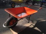 Construção Wheelbarrow forte para a Bolívia
