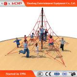 Подгонянное оборудование спортивной площадки детей парка атракционов конструкции напольное