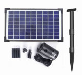 10W Scorrono-Adjustable Solar Brushless Pump Kit per Fountain