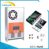 contrôleur solaire MPPT-60A Light+Li de batterie Affichage à cristaux liquides-Noire de 48V/36V/24V/12V MPPT 60A