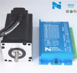 Motor deslizante servo do NEMA 24 com Built-in do codificador para o router do CNC