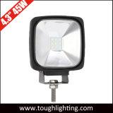 12V 24V de 4.3 pulgadas de inundación de 120 grados cuadrados Offroad haz de luces de conducción de LED CREE