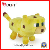 Brinquedo macio do luxuoso do porco feito sob encomenda pequeno de Minecraft dos miúdos das crianças do bebê