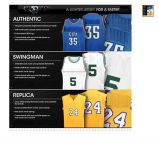 Baloncesto, Fútbol, fútbol jersey
