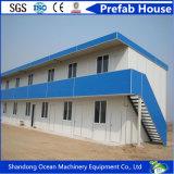 Camera prefabbricata della costruzione di alta qualità veloce dell'installazione del comitato chiaro del blocco per grafici d'acciaio e del tetto e di parete del panino