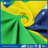 Полотенце 100% флага велюра хлопка напечатанное таможней