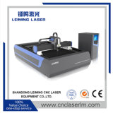 Grande machine de découpage de laser de fibre de vente pour la tôle