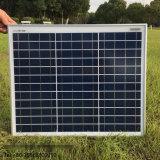 Calificar un panel solar alto de la eficacia 10With20With30With50W