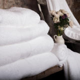 Tovagliolo bianco di alta qualità di 100% (DPF2514)