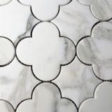 예술 Waterjet 큰 메달 대리석이 돌 모자이크 패턴에 의하여, 꽃이 핀다