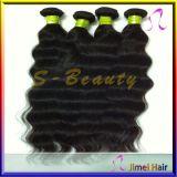 100% virgem peruano humana ondas soltas Tecelagem de cabelo (SB-P-LW)