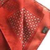 L'alta qualità progetta la sciarpa per il cliente di Georgette del poliestere della stampa di schermo (L027)