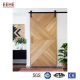 木製のベニヤの倍のガラス内部の小型のドア