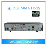 Bcm73625 DVB-S2+S2の対のチューナーのサテライトレシーバサポートHevc/H. 265との最も熱い新製品Zgemma H5.2s