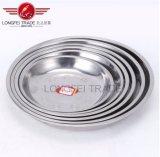 Encantos tazón de acero inoxidable placa sopa