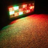 18ПК*1 Вт Светодиодные RGB для использования внутри помещений Рождество пластмассовую оболочку этапе Стробоскоп