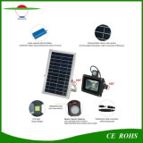 Alto brillo Sensor de movimiento de 10W Lámpara Farol solar al aire libre