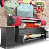 ファブリック織物のデジタル印字機に直接最高速度の情報処理機能をもったよい価格1.8m