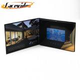 Facevideo 5 pulgadas de pantalla TFT LCD de visualización de vídeo Folleto Invitación para Negocios