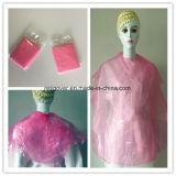 1PC/sac PE Plastique emballage unique salon de coiffure Cape / Cape de coupe