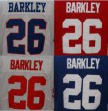 Mejor bordado personalizado #26 Saquon Barkley sutura Limited Jersey