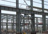 La construcción rápida de estructura de acero multicapa con la construcción de muro de parapeto y el entresuelo
