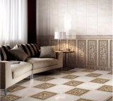 Material de construção interior brilhante de cerâmica vidrada azulejos de parede 300*800mm