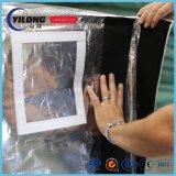 Couvercle de la palette d'isolation avec velcro matériau mousse EPE tissé MPET