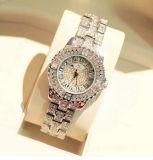 (DC-298) 2017 novas mulheres Relógios Rhinestone Senhora vestir mulheres Assista Diamond Bracelete relógio marca de luxo Senhoras Relógios de quartzo cristalino