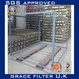 PTFEのガラス繊維の塵のフィルタクロスのバッグフィルタ