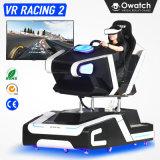 Design personalizado de arcada do simulador de condução de Diversões 9d Vr Racing carro máquina de jogos