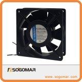 120X120X38mm 4 Zoll 220-240V Wechselstrom-Abgas-Ventilations-axialer Ventilator für das Abkühlen