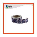 Высокое качество циркуляр бумажную наклейку/индивидуальные этикетки печать