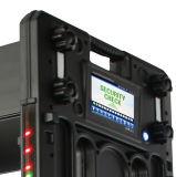 Vmp9000 Portable caminar a través del detector de metal marco de la puerta