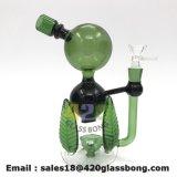 녹색은 디자인에게 무모한 유리제 석유 굴착 장치 담배 위드를 유리제 물 연기가 나는 관 남겨둔다
