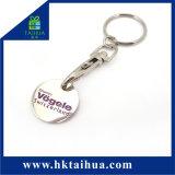 Migliore metallo poco costoso promozionale su ordinazione di vendita Keychain di modo di prezzi di marca