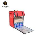 Casella isolata di consegna della pizza del sacchetto del dispositivo di raffreddamento del gelato per il motorino