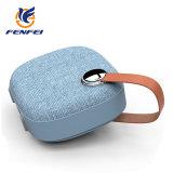 Haut-parleurs PU portable sans fil Bluetooth avec deux haut-parleurs